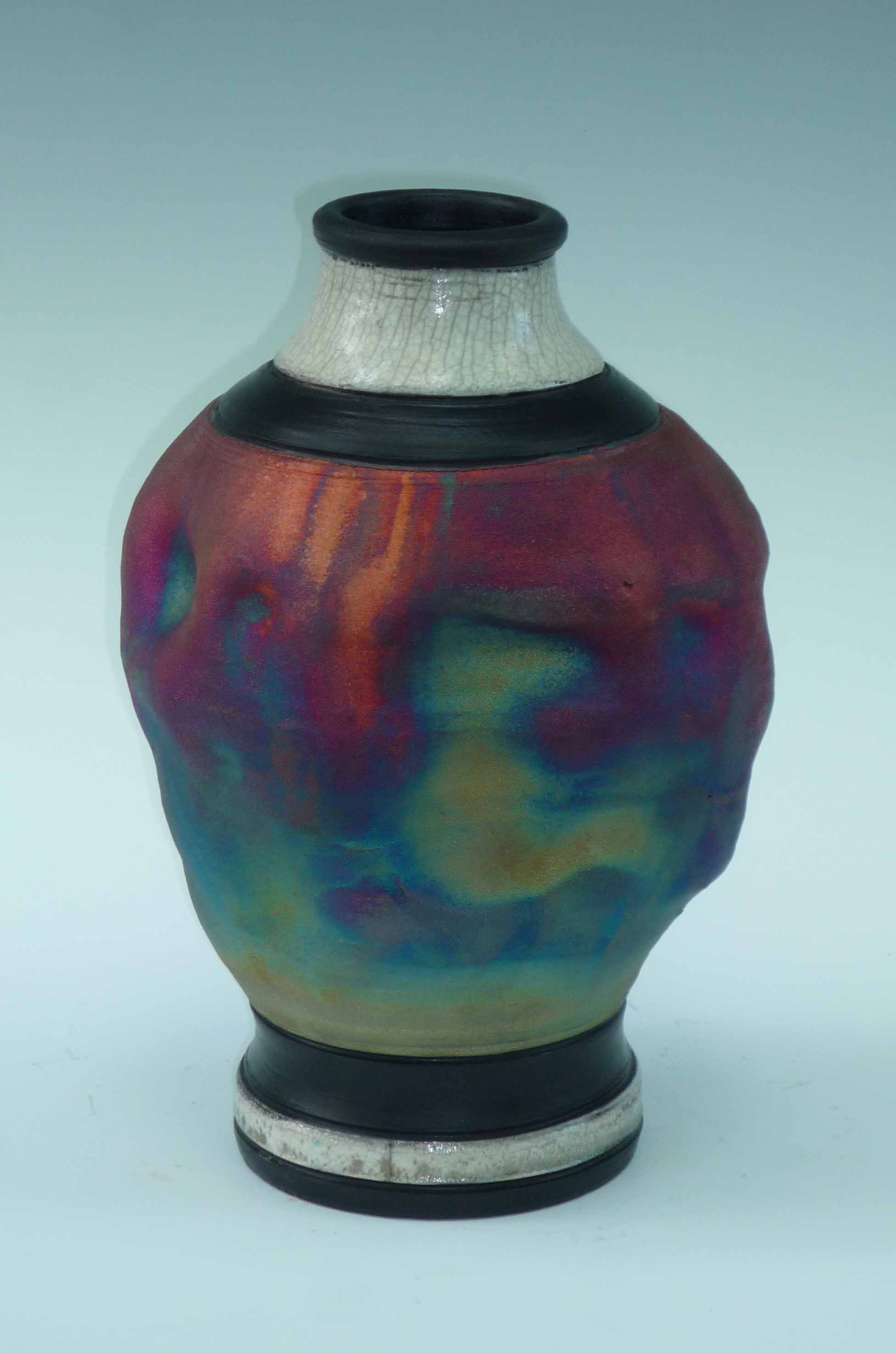 Vase small Rainbow Patina