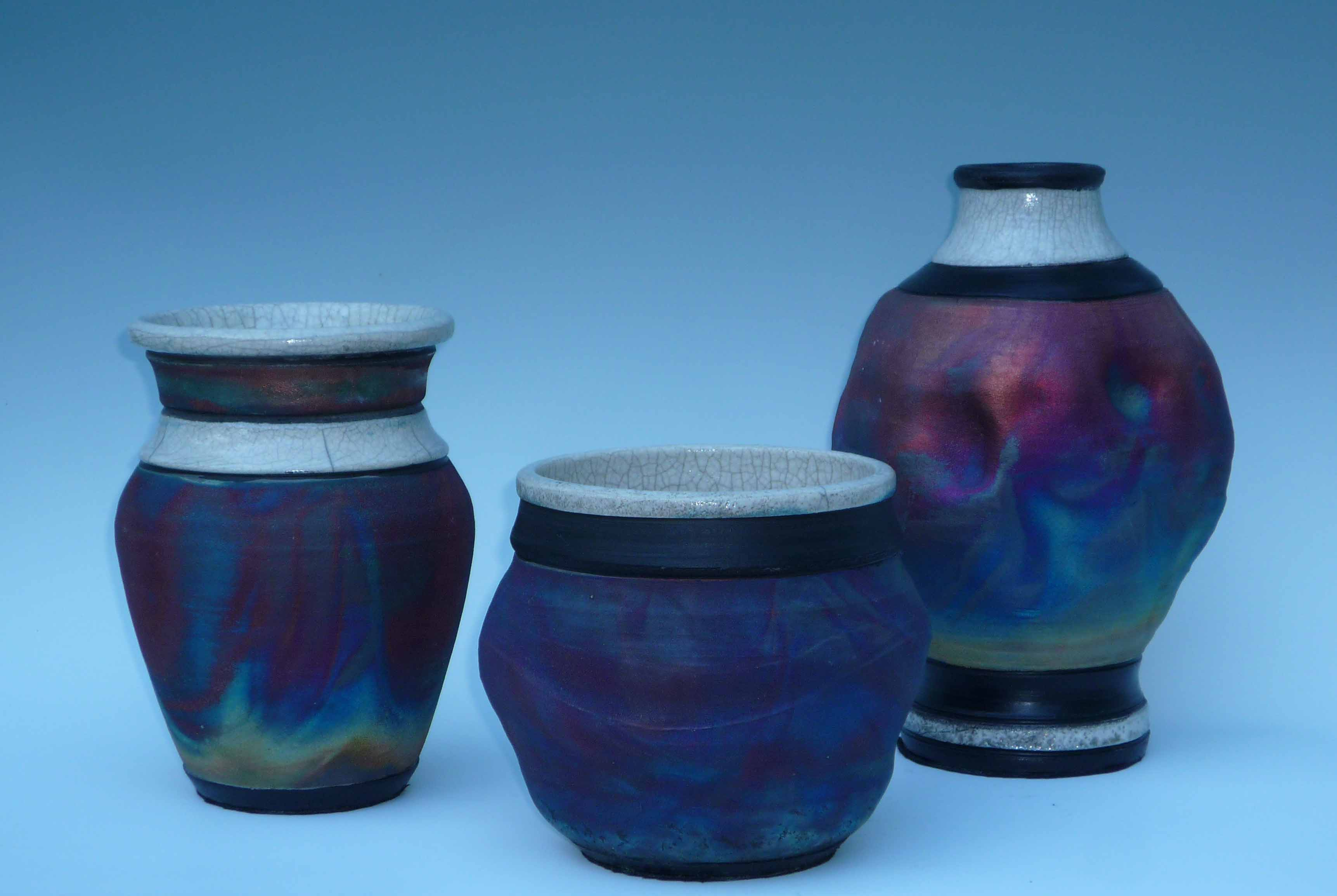 Vases Rainbow Patina